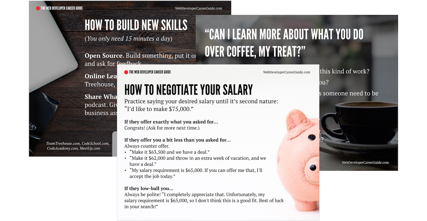 Learn How To Stay Relevant Hack The Hiring Process And Make More Money As A Web Developer Go Make Things