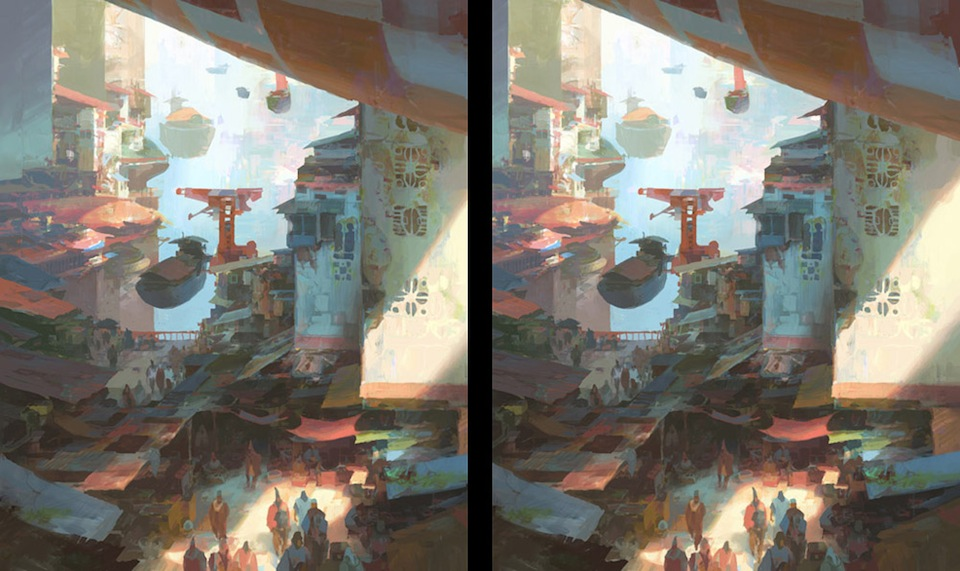 Stereoscopic Art by Theo Prins