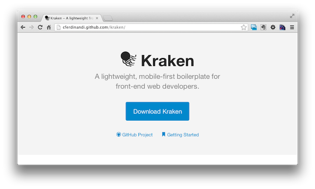 A screenshot of the new Kraken website